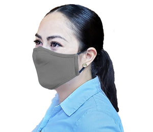 Adult Non-Medical Mask with Filter - 12 MASK - GROUP SIZE BUNDLE (Made from Super Comfortable Polyester Microfiber)