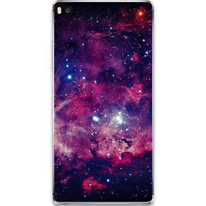 Husa Huawei P10 Galaxy Red