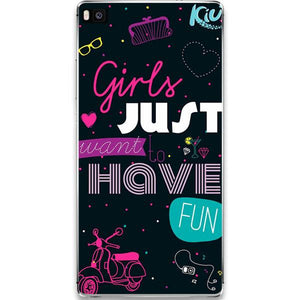 Husa Huawei P10 Girls Just Want to Have Fun