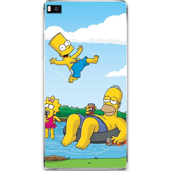 Husa Huawei P10 Happy Simpson Family