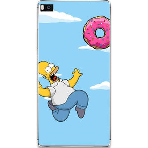 Husa Huawei P10 Happy Simpson