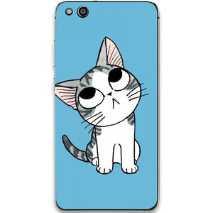 Husa Huawei P10 LITE Confused Cat