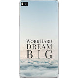 Husa Huawei P10 Work Hard Dream Big