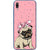 Husa Huawei P20 LITE Sad Little Pug