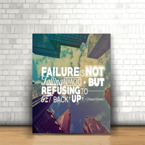 Tablou Failure is not Falling