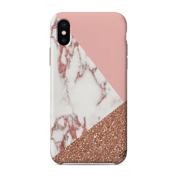 Husa iPhone X Marble Mix