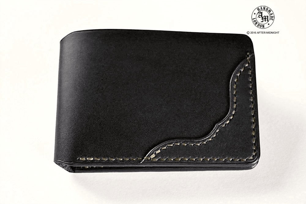 Card Holder in Black - 6 slot