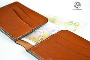 Card Holder in London Tan - 6 Slot