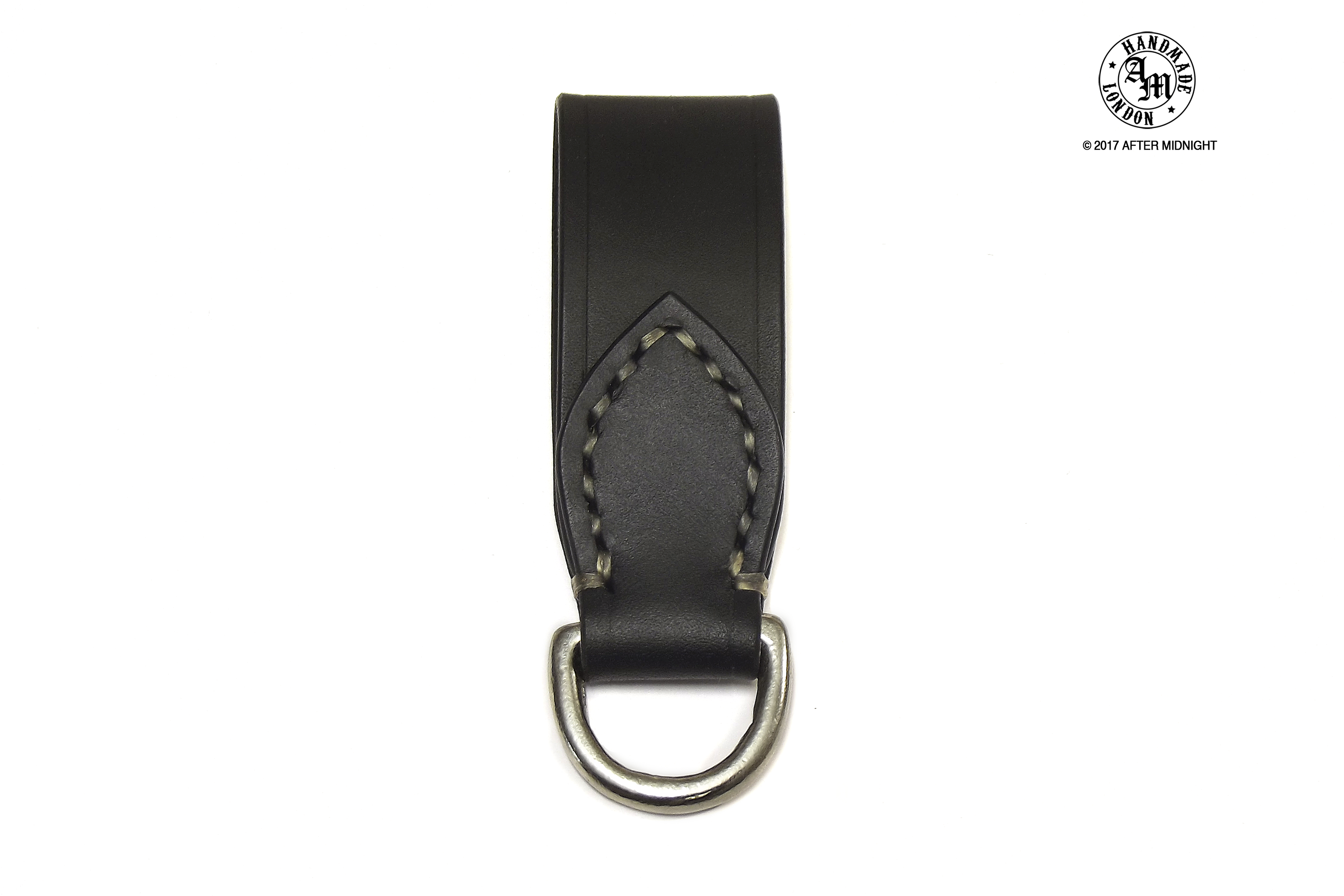 Closed Belt Loop in Black