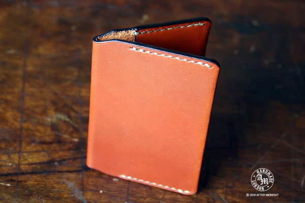 Card Holder in London Tan