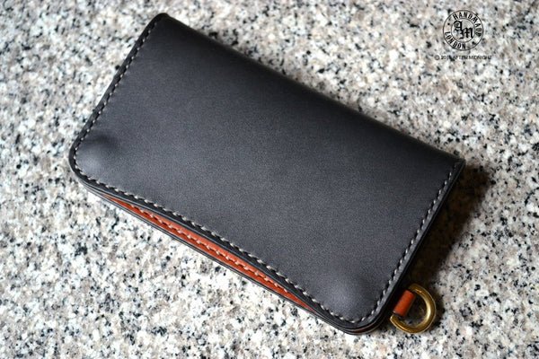 Trucker Wallet 'Concealed' Extra Pockets in Duo Color - Medium