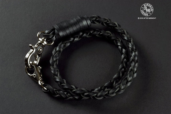 Lanyard 4-Strand in Black