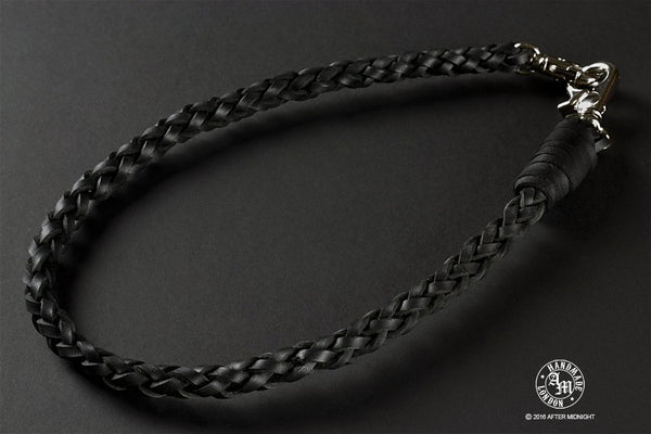 Lanyard 6-Strand in Black