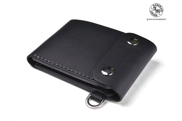 Trifold Wallet with Card Pockets in Black