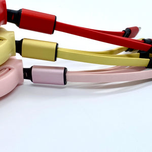 Macaron 3-in-1 Mobile Charging Cable (Type-C / lightning / micro USB)