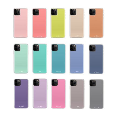 Single Color Palette - Silicone Phone Case