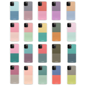 Dual Color Palette - Silicone Phone Case