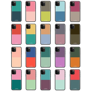 Dual Color Palette - Glass Phone Case