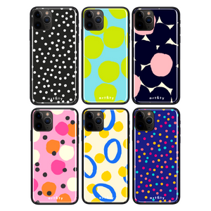Polka Dots - Glass Phone Case