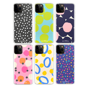 Polka Dots - Silicone Phone Case