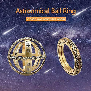 Astronomical ring-Closing is love,Opening is the world