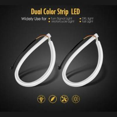 White/Sequence Amber LED Strip Light