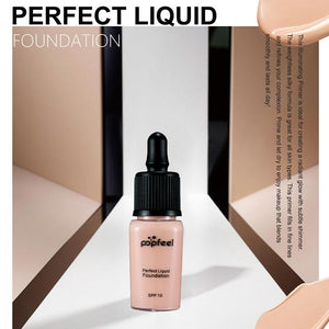 Moist Flawless Oil-control Liquid Foundation Makeup Concealer