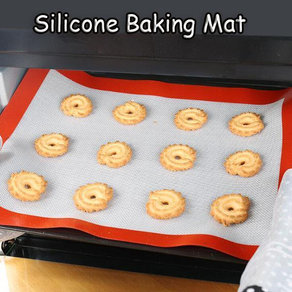 【50% OFF & Buy more save more】Silicone Baking Mat