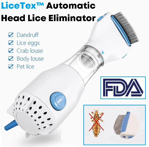 LiceTex™ Automatic Head Lice Eliminator
