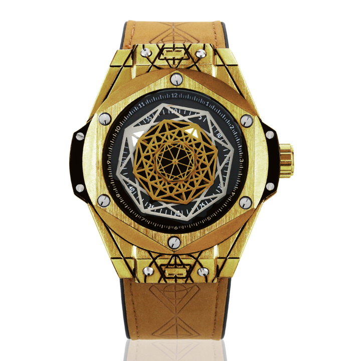 🎁Free delivery:Exquisite gentleman geometry identity personalized watch⌚⌚