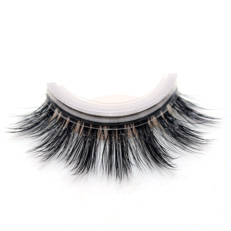 (Discount Code OFF7 Buy 5 get 3 FREE!)3D Self-Adhesive Soft Eyelashes for Lady's Makeup