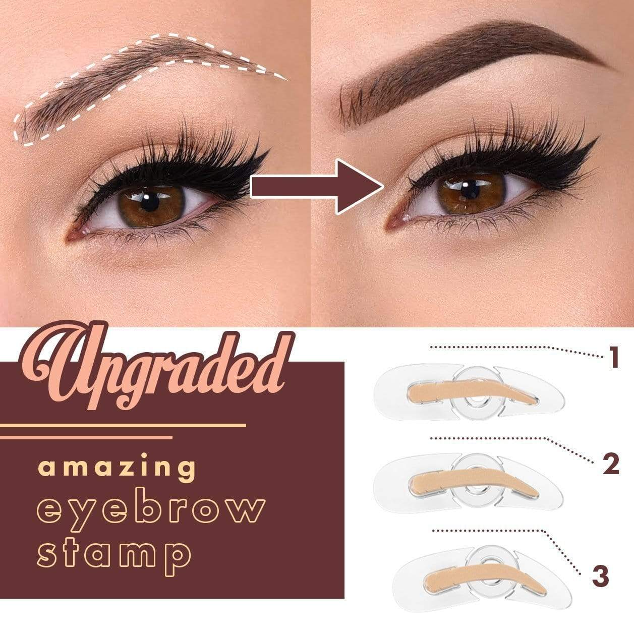 Amazing Adjustable Eyebrow Stamp
