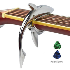 (Buy two free shiping)Shark Capo,Zinc Alloy Tone Clip