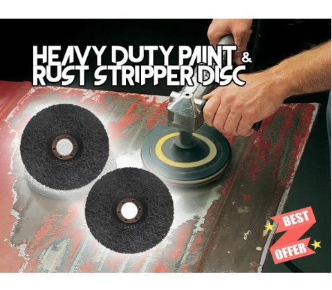 Buy 1 Get 1 Free Today-Heavy Duty Paint & Rust Stripper Disc