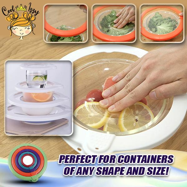 Vacuum Sealing Food Lids