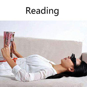Bed Prism Spectacles Horizontal Lazy Glasses for Reading and Watching TV