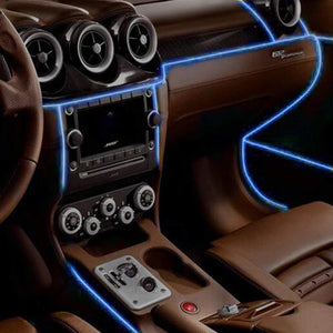 Auto Interior Cold LED Lights Strip With Drive