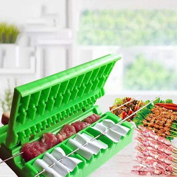 (50% OFF)BBQ Meat Skewers Machine