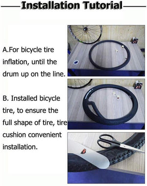 BUY 2 FREE SHIPPING--Bicycle inner tube protection pad