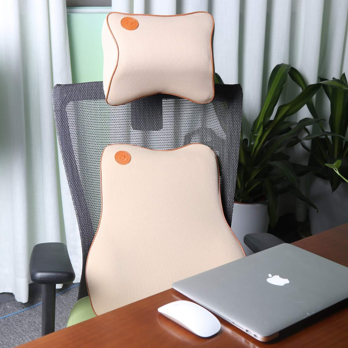 Car Seat Headrest&Lumbar Support Pillow