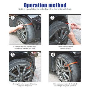 Car Tire Snow Chains