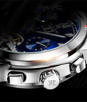 Luxury Chronograph Waterproof Watch--🔥🔥buy 2 free shipping