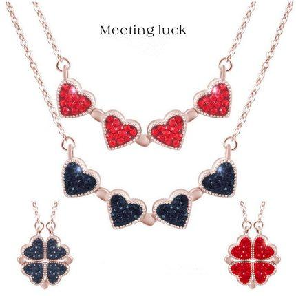 Buy 1 Get 1 Free Today-leaf clover necklace