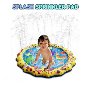 Splash Sprinkler Pad(Order Yours Today 50% Off)