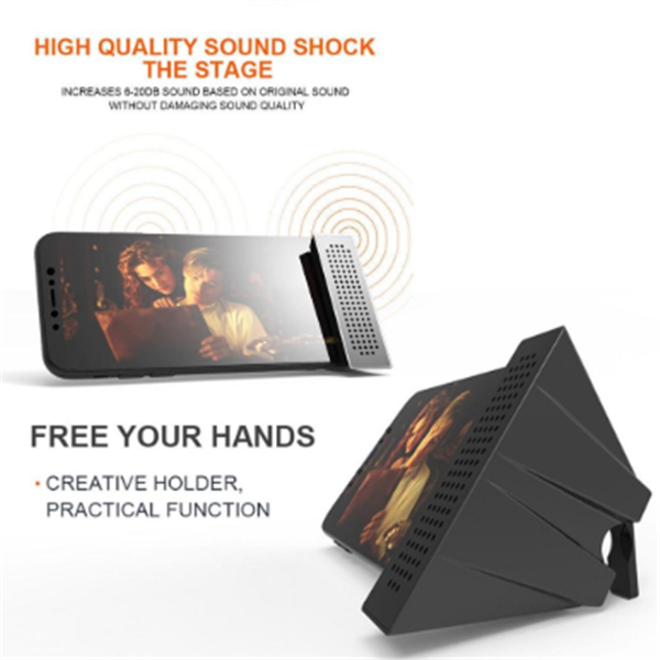 Portable Sound Amplifier Phone Holder-(Order Yours Today 50% Off)