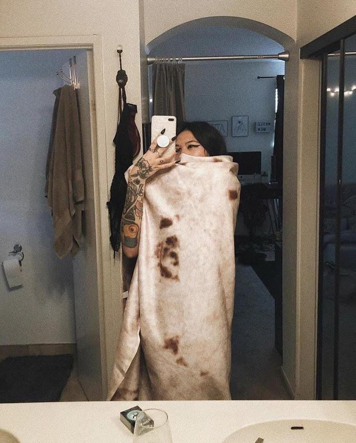 Last Day Promotion🔥GIANT BURRITO BLANKET
