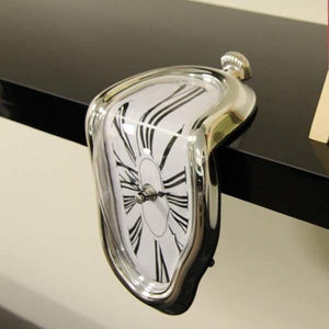Salvador Dali Inspired Melting Clock-Wall Clocks-Cool Home Styling