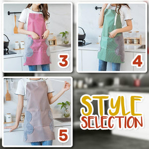 Waterproof Apron with Side Towel