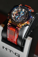"Load image into Gallery viewer, COMING SOON Casio G SHOCK 2020ss Metal Twisted G Shock ""Volcanic Lighting"" MTG-B1000VL"