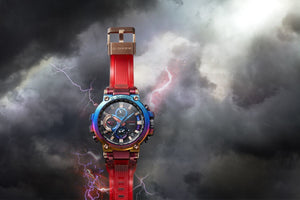 "COMING SOON Casio G SHOCK 2020ss Metal Twisted G Shock ""Volcanic Lighting"" MTG-B1000VL"
